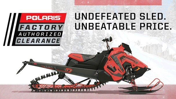 Polaris Snow Factory Authorized Clearance